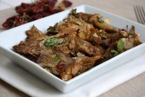 ricetta Funghi pleurotus al forno