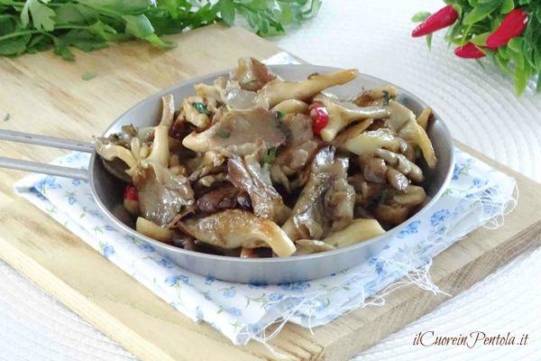Funghi Pleurotus ricette: trifolati, fritti, al forno e alla ...